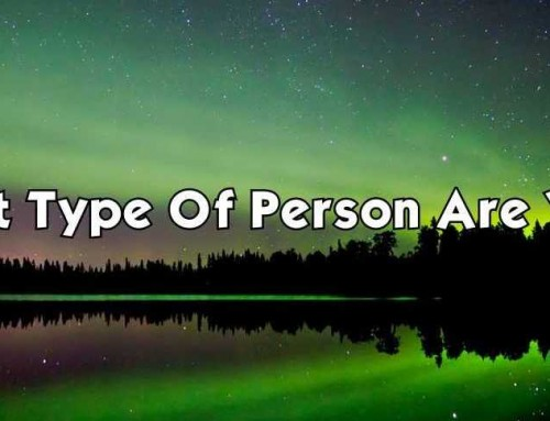 I'm Enlightened – What Type Of Person Are You?