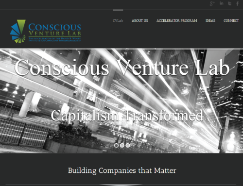 Conscious Venture Lab Website