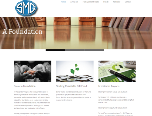 SMG Website Redesign