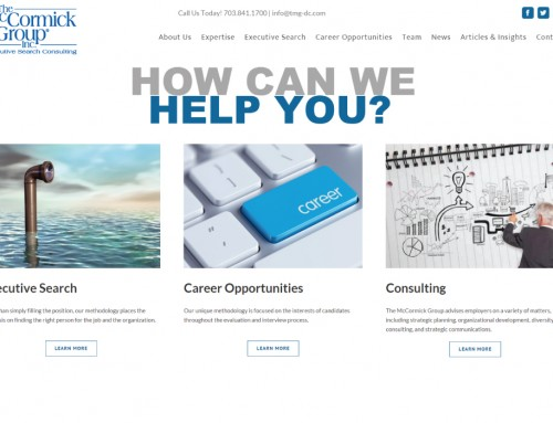 The McCormick Group Website